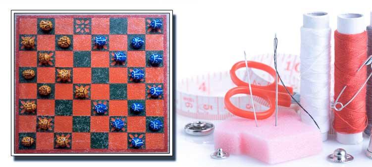 Как сделать шашки своими руками 72
