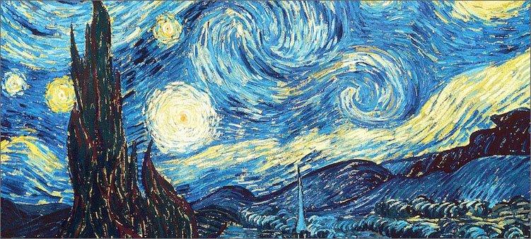 картина-ван-гога-звездная-ночь