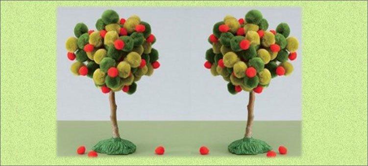 деревца-из-маленьких-помпонов