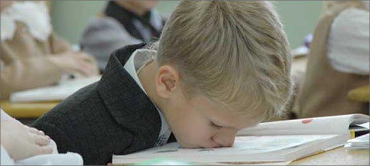 мальчик-устал-учиться