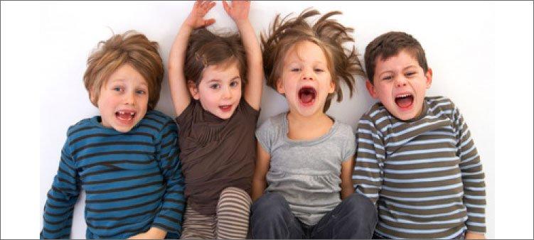 радостные-дети