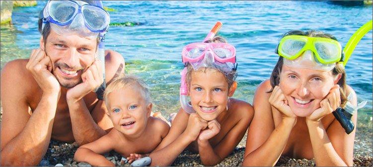 семья-на-берегу-моря