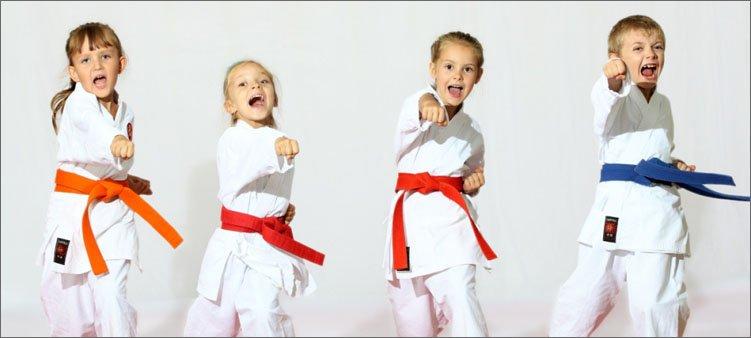 дети-занимаются-карате