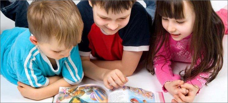 дети-читают-книгу