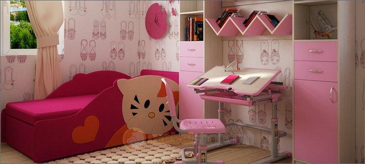 розовая-детская-комната