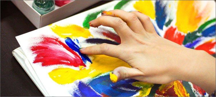рисунок-пальцами
