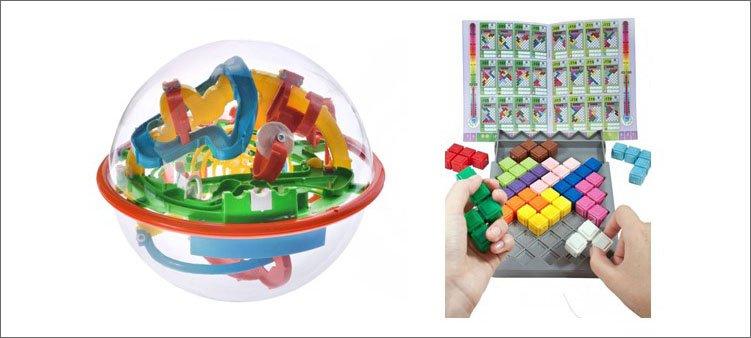 пластиковые-головоломки