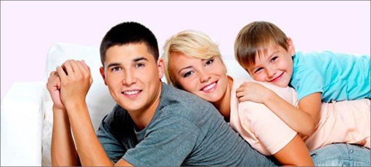 семья-из-трех-человек