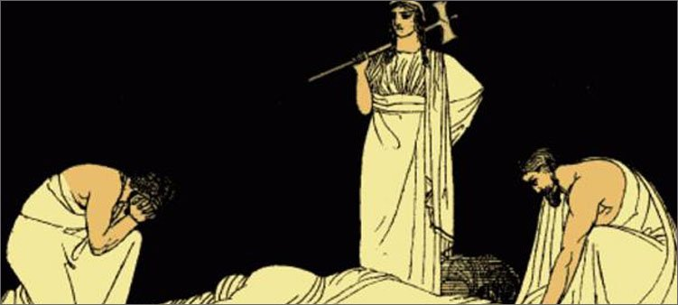an analysis of agamemnon as a tragic hero in the play agamemnon by aeschylus Extracts from this document introduction how far does the agamemnon reflect the perfect tragedy in this essay i shall explore the how far the agamemnon.