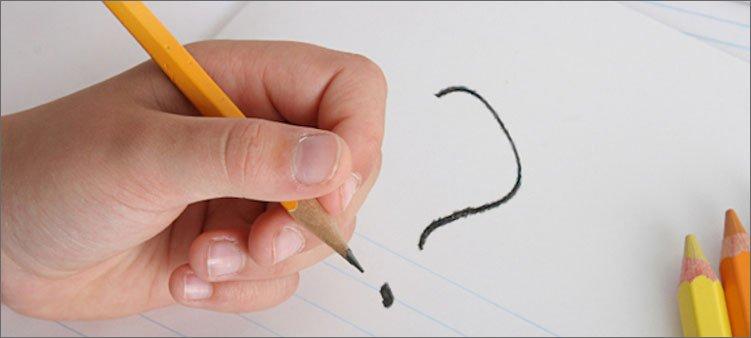 знак-вопроса-нарисован-карандашом-левой-рукой