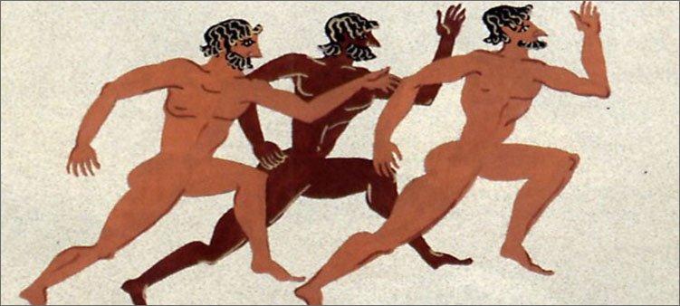 бег-на-древних-олимпийских-играх