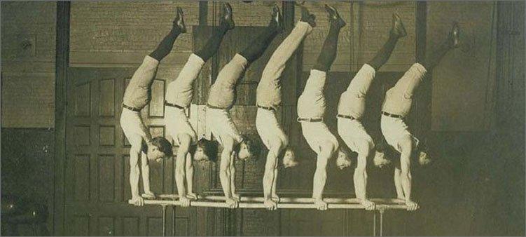 джордж-эйер-и-гимнасты
