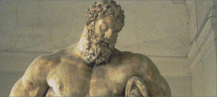 скульптура-геракла