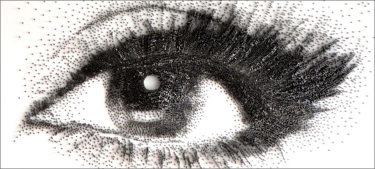 глаз-нарисованный-гвоздями