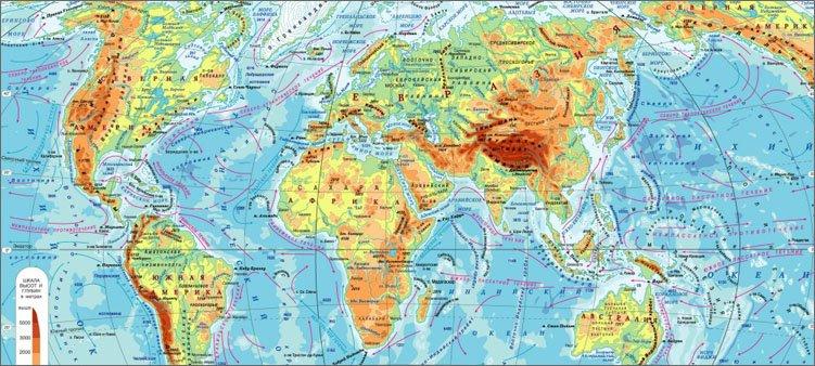географическая-карта-мира