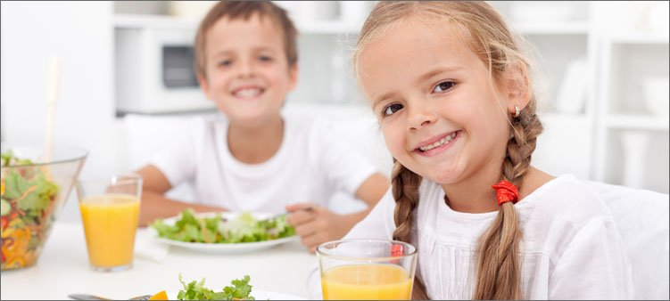 дети-кушают
