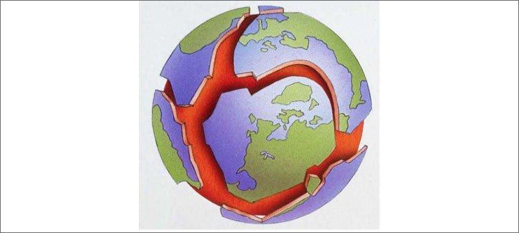 дитосферные плиты земли