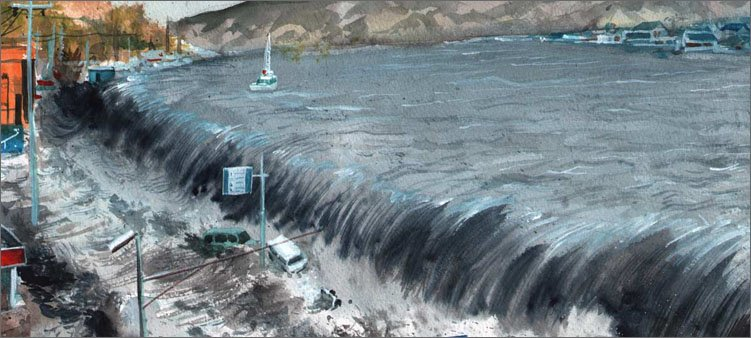 волна-цунами-накатывает-на-берег