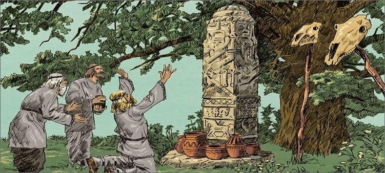люди-поклоняются-идолам