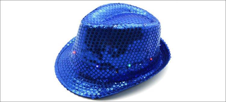 синяя-шляпа