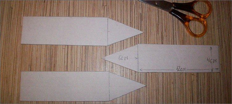 вырезанные-из-картона-карандаши