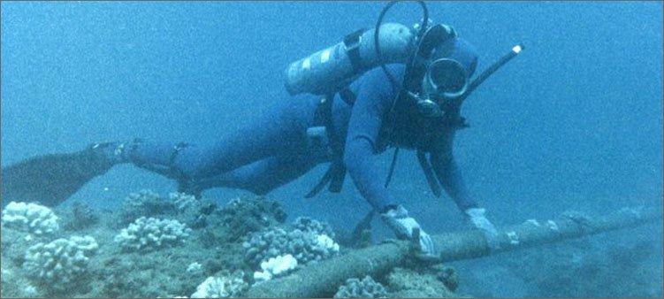 океанолог-под-водой