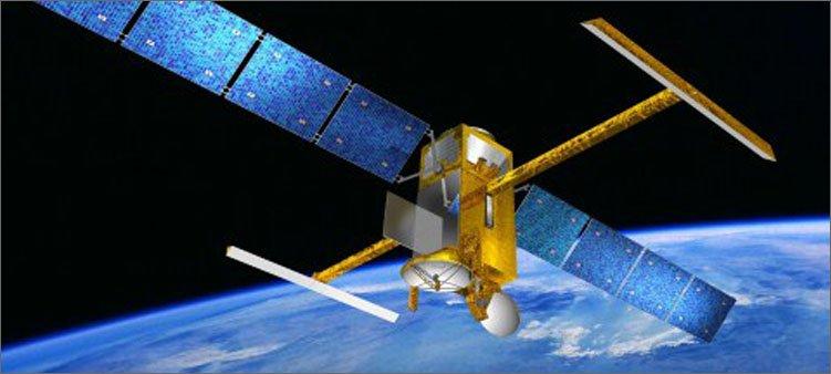 спутник-в-космосе