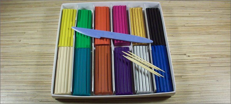 цветной-пластилин