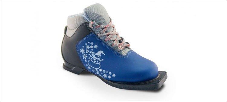 детский-лыжный-ботинок