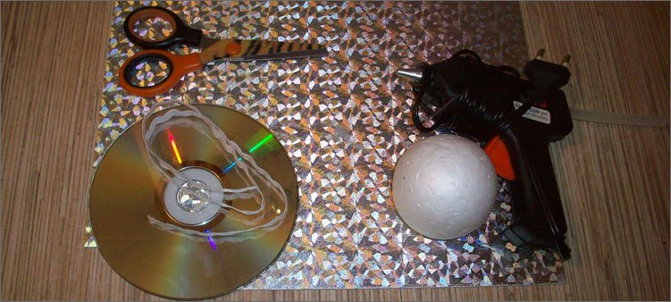 материалы-для-изготовления-игрушки-диско-шар