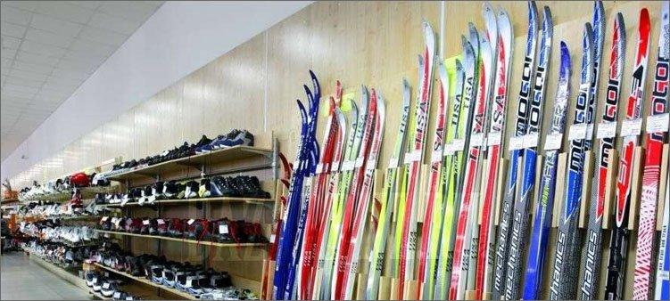 лыжи-в-магазине