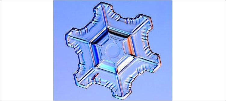 снежинка-пластинка