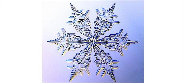 хрустальная-снежинка