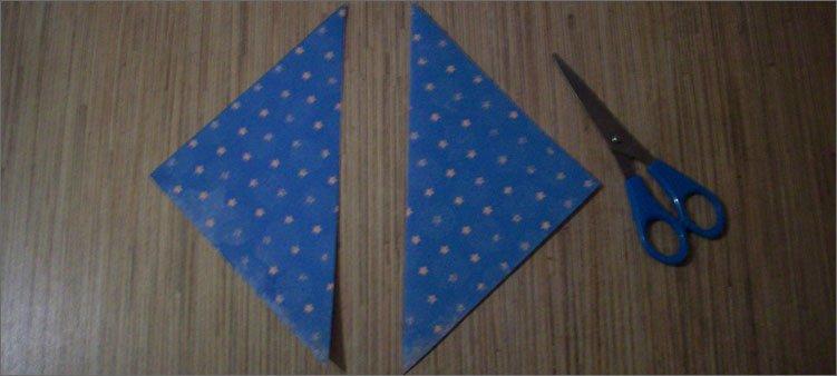 треугольники-из-бумаги