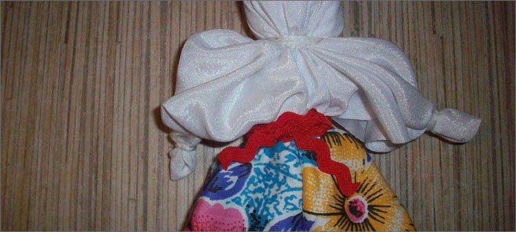 Кукла из платка своими руками мастер класс 55