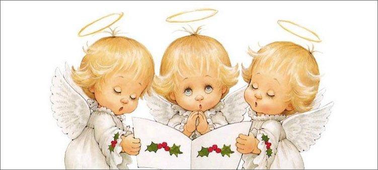 рождественские-ангелы