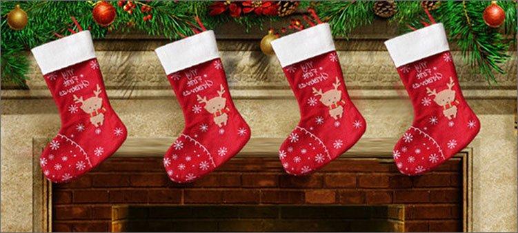 рождественские-чулки