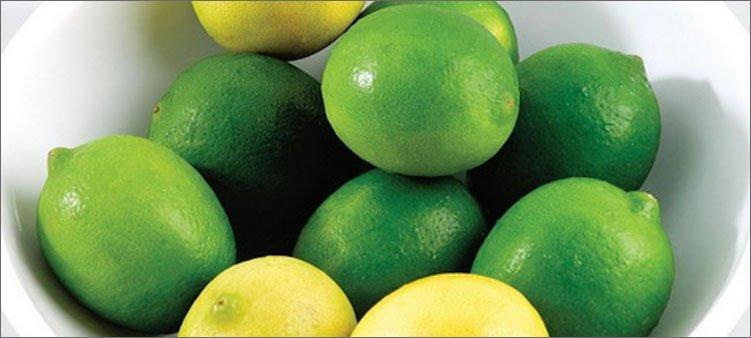 зеленые-лимоны