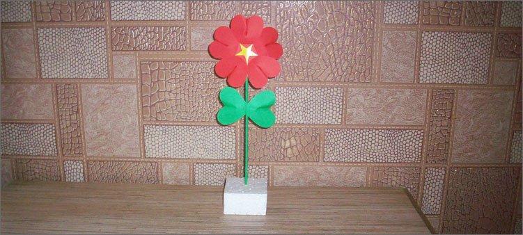 цветочек-на-пенопласте
