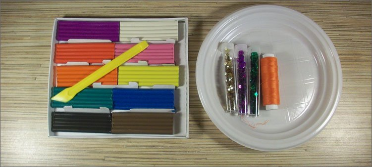 материалы-для-поделки-тарелочка