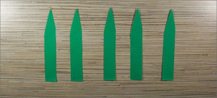 листочки-из-зеленой-бумаги