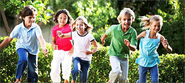 дети-бегут