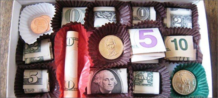 конфеты-деньги