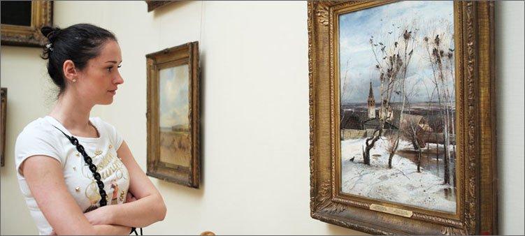 картина-саврасова-в-третьяковской галерее