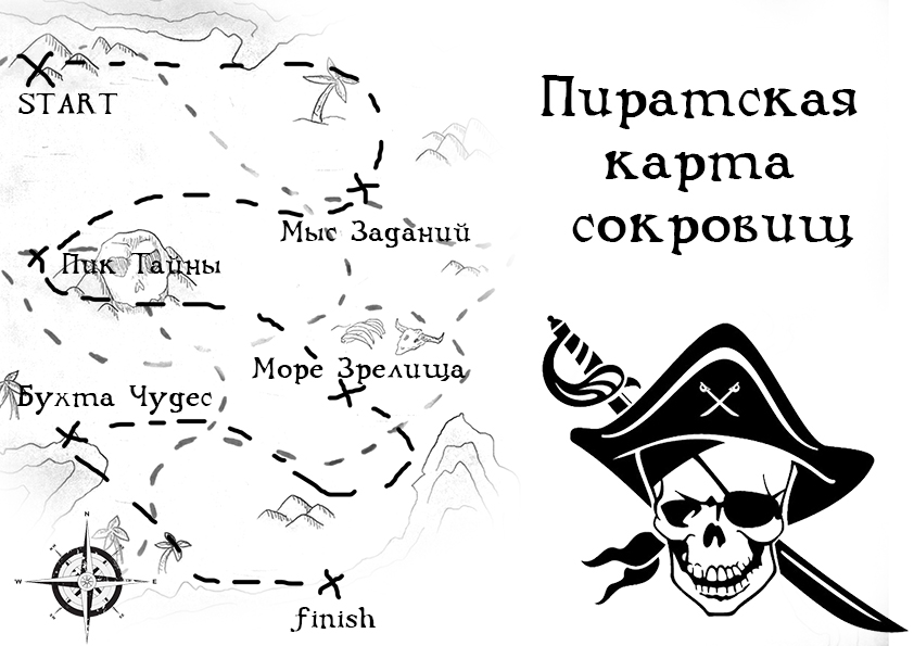 карта-сокровищ