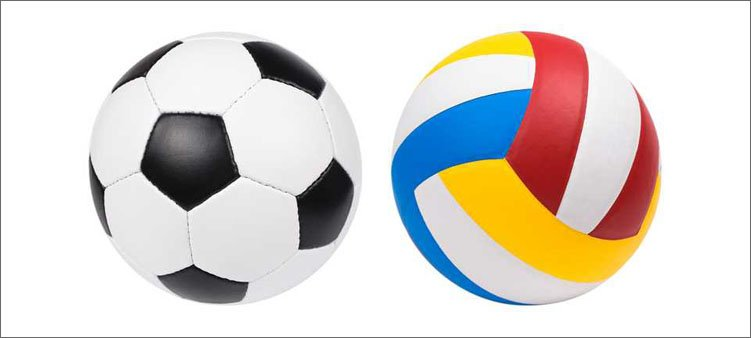 футбольный-и-волейбольный-мячи