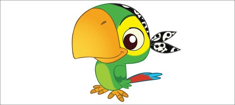 пиратский-попугай