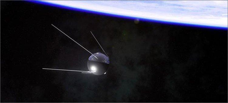 спутник-на-фоне-земли