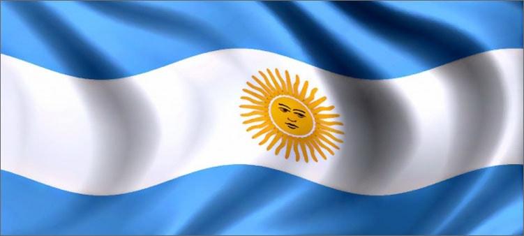 флаг-аргентины