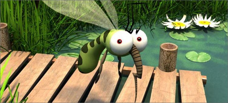 комар-летит